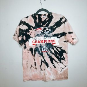 New England Patriots Bleached Tee